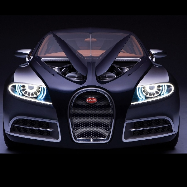 Bugatti Galibier, Pertahankan Tampilan Front Engine dengan Empat Pintu