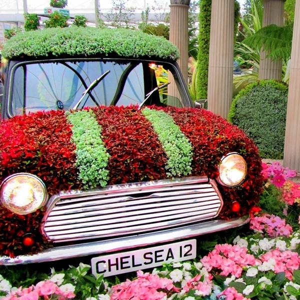 Peneliti Temukan Bunga Hidup Bisa Jadi Sumber Energi Kendaraan