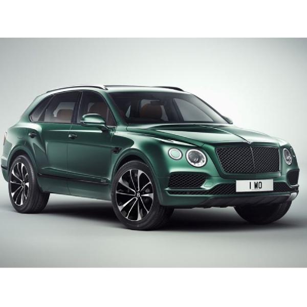 Modifikasi SUV Bentley Bentayga Beraroma Kental British Racing Green