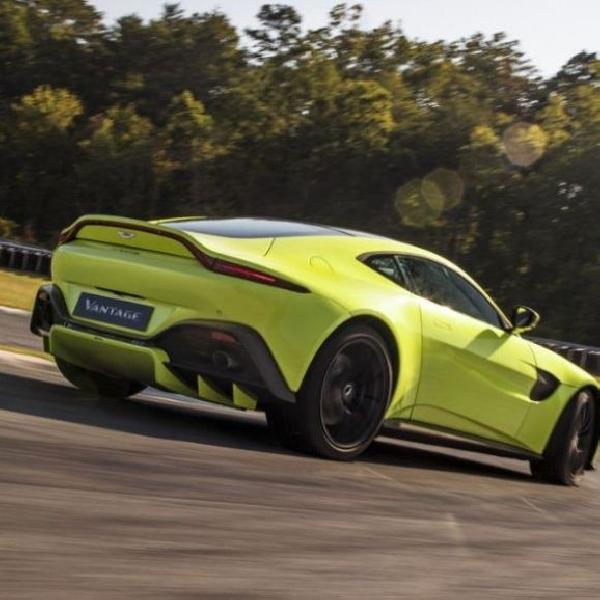 Aston Martin Vantage 2019, Sentuhan Baru Aerodinamika dan Easy Handling