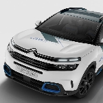 Citroen C5 Aircross Hybrid Concept Akan Debut Paris