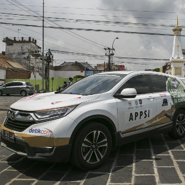 Rombongan Jelajah Nusantara Honda CR-V Turbo Lanjutkan Perjalanan Lintas Pulau Jawa