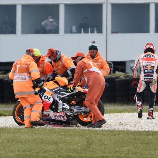 Crash, Marquez Akui Ini Kesalahannya