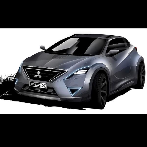 Desain Konsep Mitsubishi BSX Sangat Menggoda