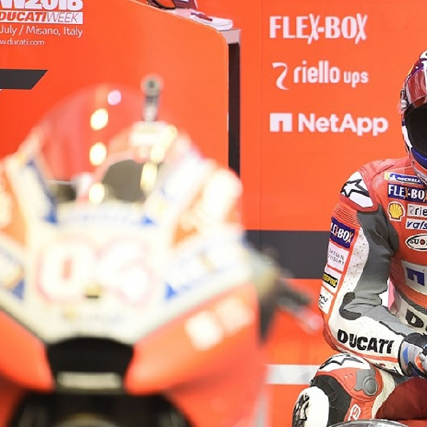 Andrea Dovizioso Terlibat Pembicaraan Dengan Honda dan Suzuki