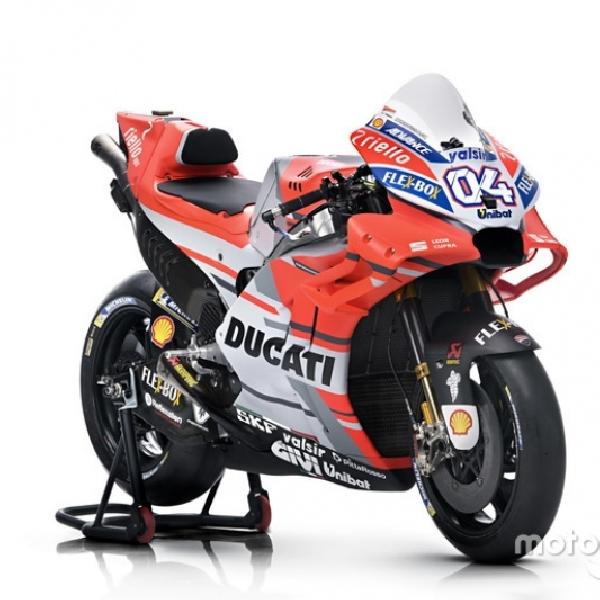 MotoGP:Ducati GP18 Punya Wajah Baru dan Diklaim Tenaga Meningkat