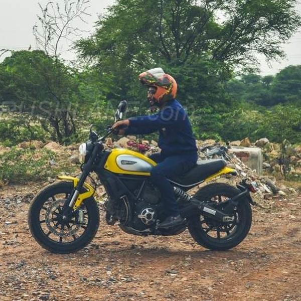 Ducati Scrambler 1.200 Mulai lakukan Pengujian
