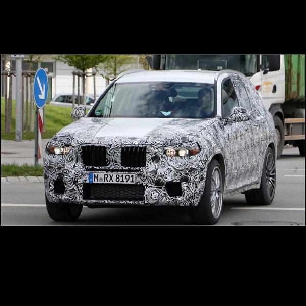 BMW X3 Siap Tantang Porsche Macan dan Mercedes-AMG GLC 63