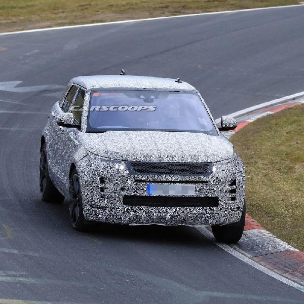 Generasi Terbaru Range Rover Evoque Sedang Diuji