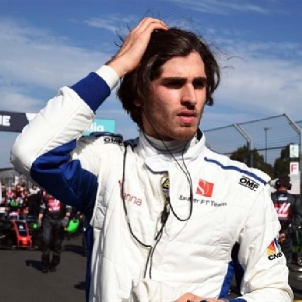 F1: Ferrari Buka Pintu Antonio Giovinazzi untuk Sauber