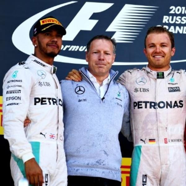 F1: Rosberg Kembali Juara, Rio Tidak Bertahan Lama di Sochi