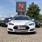 Tesla Dipakai Jadi Mobil Patroli di Belgia