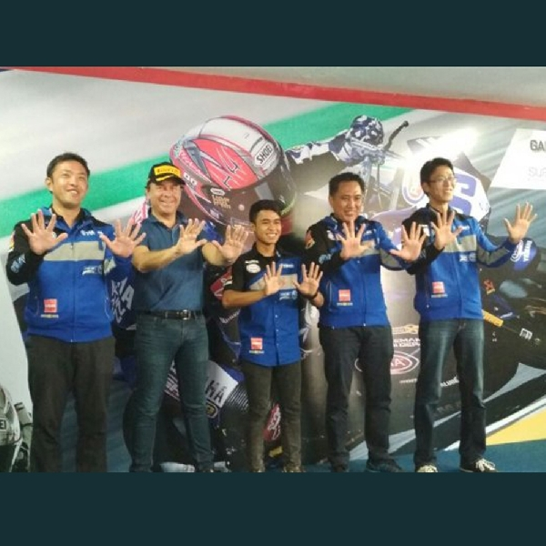 Galang Hendra Siap Tempur di World Supersport 300 2018