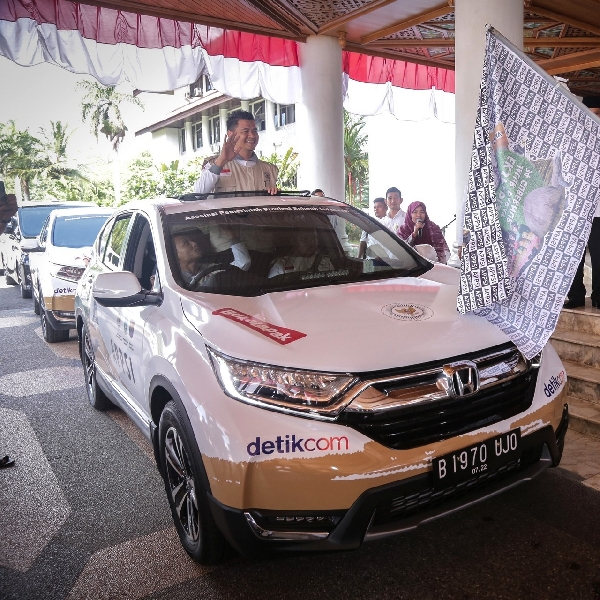 Honda CR-V Turbo Lakukan Jelajah Nusantara 21000 km