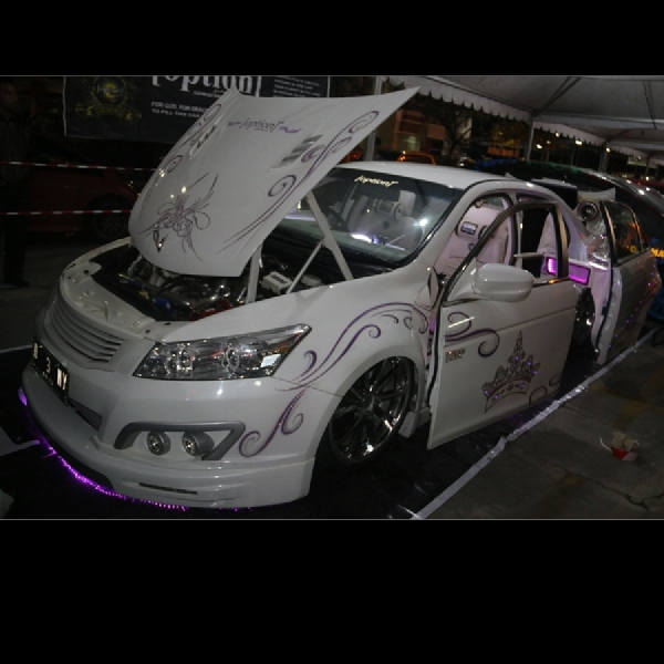Tampil Elegan, Honda Accord Ini Jadi Runner-up BlackAuto Battle Balikpapan 2016