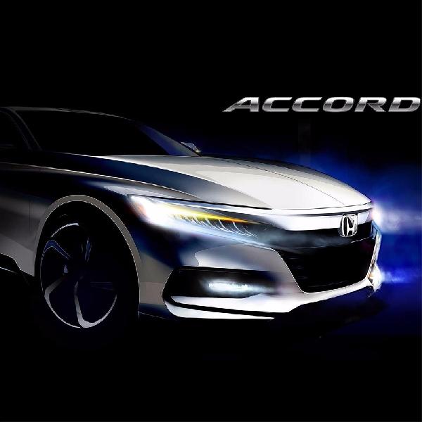 Honda Accord Terbaru Lakukan Debut 14 Juli 2017
