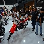 Motor Honda Laris di Jakarta Fair 2018