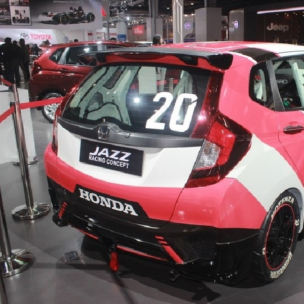 Honda Pamer Konsep Honda Jazz Racing di India