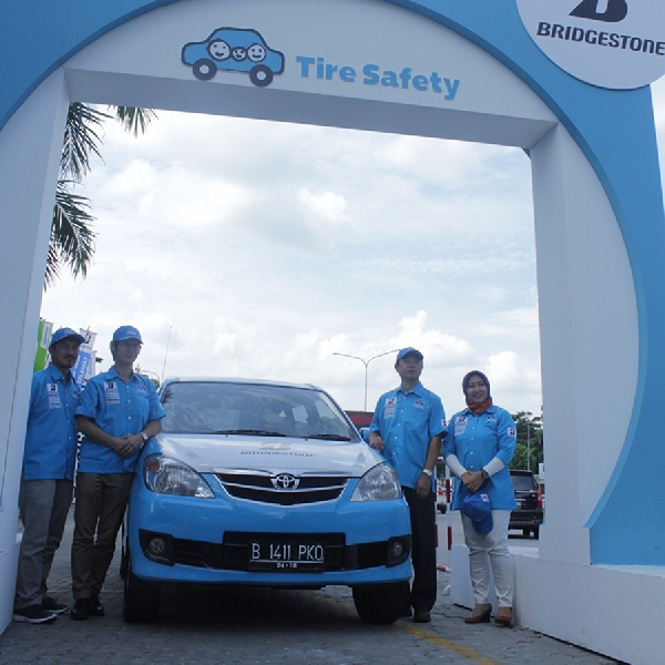 Bridgestone Kembali Gelar Tire Safety Campaign