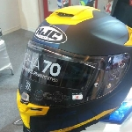 Dunia Motor Com Kenalkan Helm Terbaru di IIMS 2017