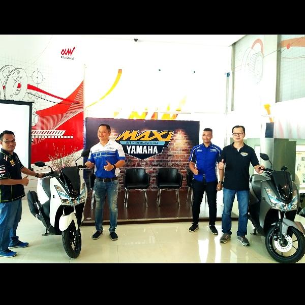 Yamaha Lexi Resmi Menyapa Medan