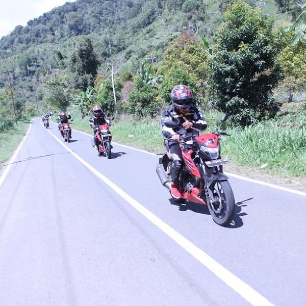 Suzuki GSX150 Bandit Jelajahi Sulawesi Utara 456 KM