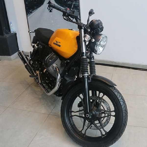 Desain Store Motoplex Diambil Dari Moto Guzzi