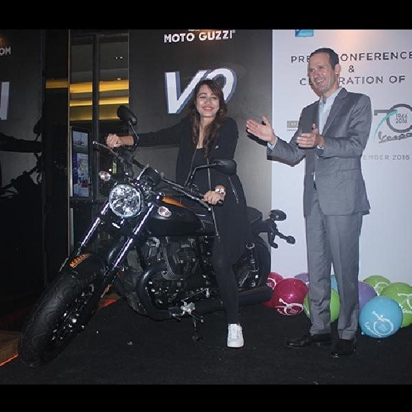 Piaggio Indonesia Luncurkan Moto Guzzi V9 dan Vespa Settantesimo