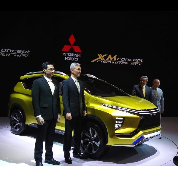 Inilah wujud Mitsubishi XM Concept Crossover