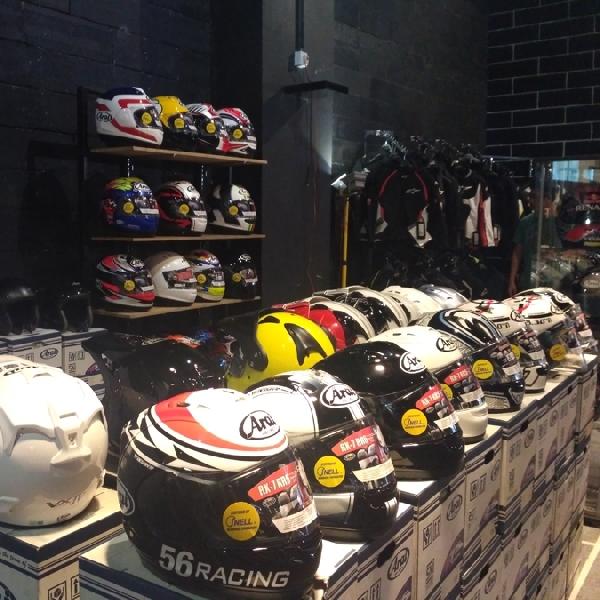 Jakarta Helmet Exhebition 2017 Banjir Pengunjung
