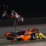 MotoGP: Jatuh Bangun Marquez tetap Optimis di GP Qatar
