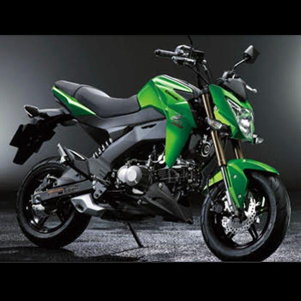 Kawasaki Z125 Pro di Indonesia Aman terkendali