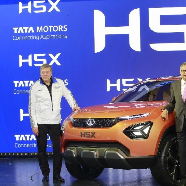 Konsep Tata H5X Gunakan Platform dari Jaguar Land Rover