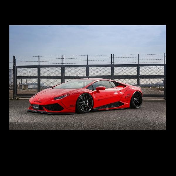 Liberty Walk untuk Lamborghini Huracan