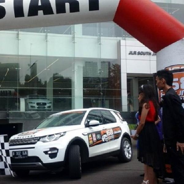 168 Jam Non-Stop Uji Ketangguhan Land Rover Discovery Sport