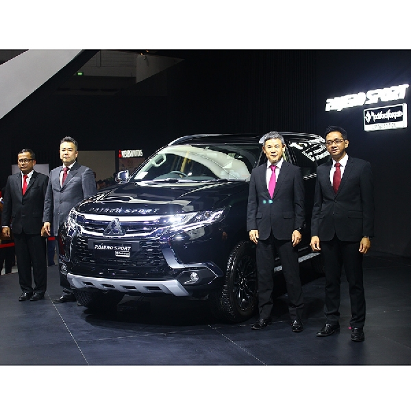 Mitsubishi Hadirkan Pajero Sport yang Lebih Eksklusif