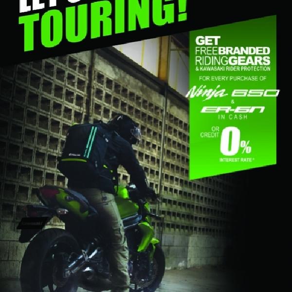 Kawasaki Tantang Penggila Touring