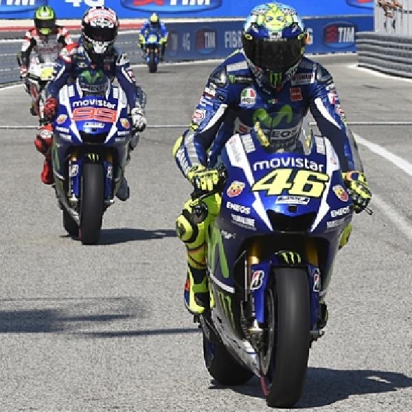 MotoGP: Lorenzo Sadar Jika Rossi Lebih Laku