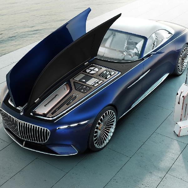 Tahun ini Mercedes Bakal Hadirkan Vision Mercedes-Maybach 6 Cabriolet di Pebble Beach