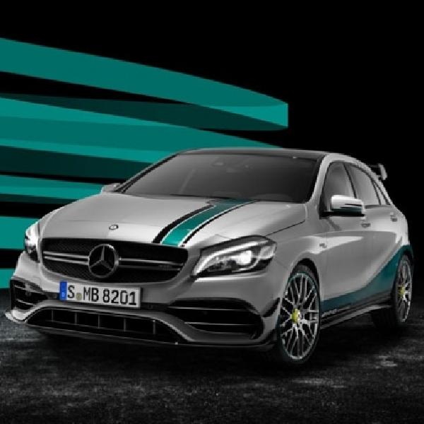 Rayakan Kemenangan Mercedes-Benz Rilis Edisi Khusus A45
