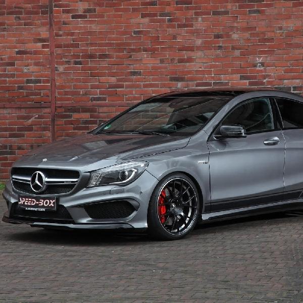 Mercedes-AMG CLA 45 dapat tenaga ekstra