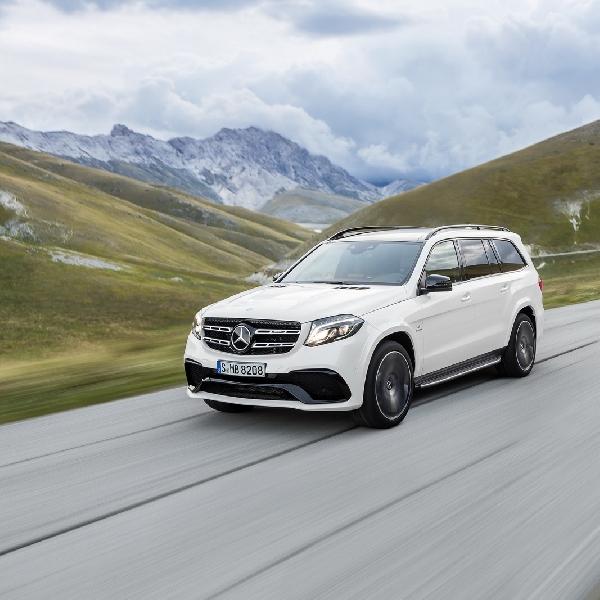 Mercedes Benz Mulai Produksi GLS di Tuscaloosa