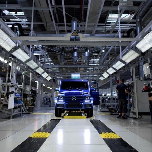 Mercedes Benz Rayakan Produksi 300 Ribu Unit G-Class