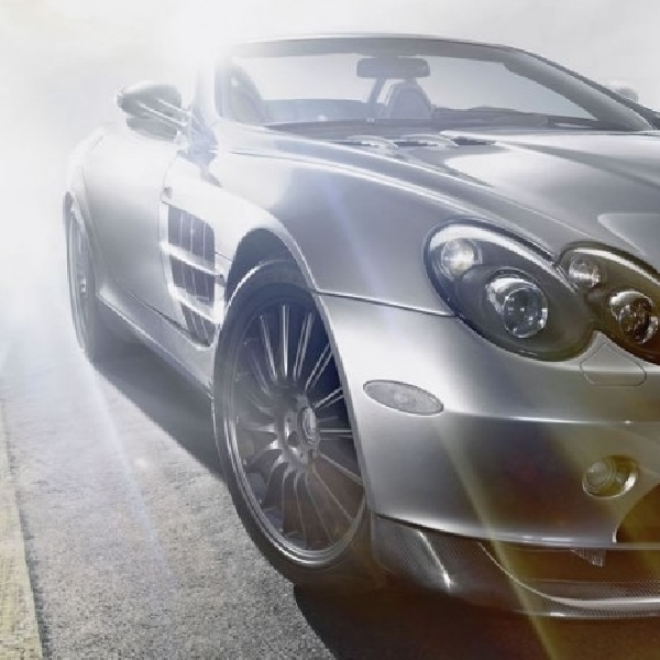 Mercedes-AMG SLR Akan Pakai Mesin Hybrid