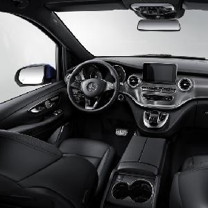 Mercedes V Class Eksklusif Lebih Mewah