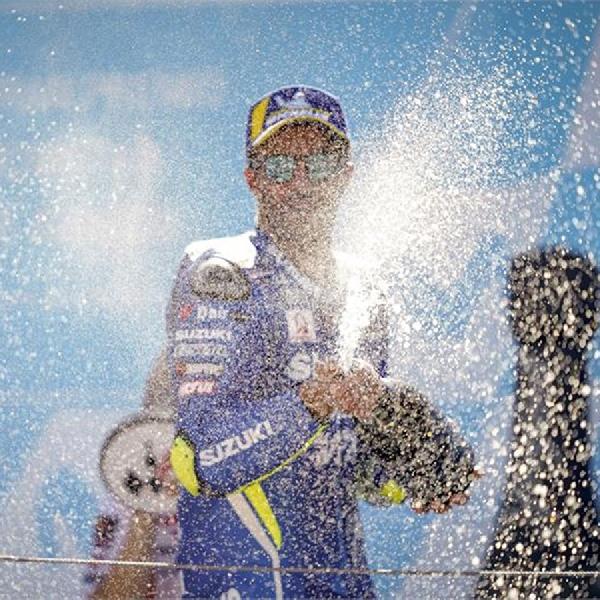 Iannone Sukses Podium di Aragon, Rins Tunggu  Kejutan di Buriram