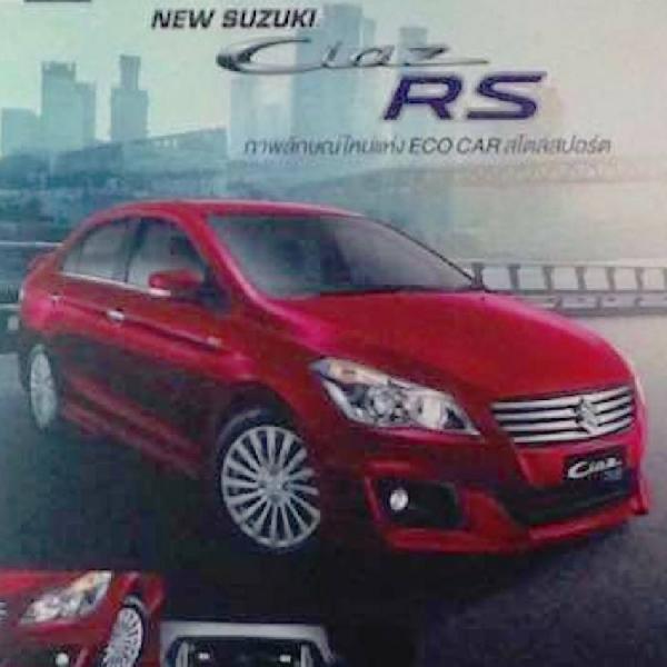 Minggu Depan Meluncur, Suzuki Bocorkan Varian Ciaz RS