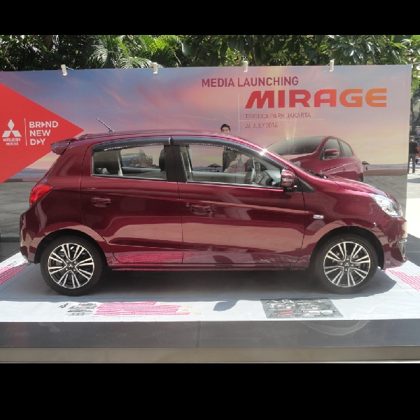 Inilah perubahan Mitsubishi Mirage