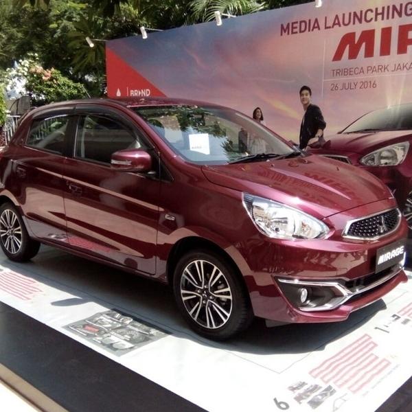 Mitsubishi Mirage Facelift resmi diluncurkan