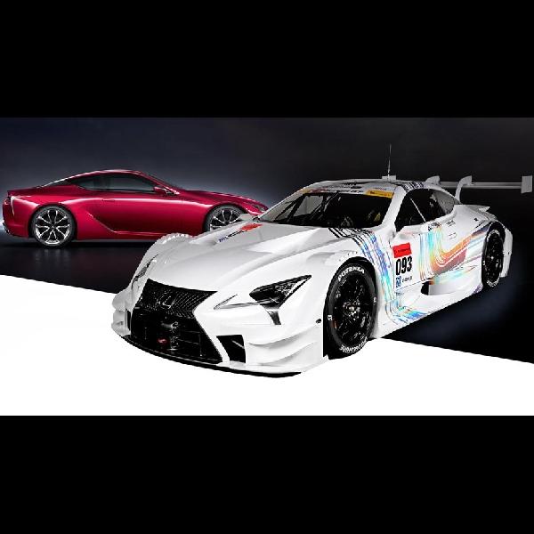 Mobil Balap Lexus LC 500 GT Mulai Ikut Laga di Super GT